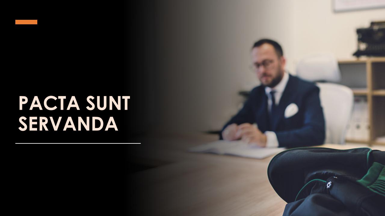 Pacta sunt servanda - adwokat Gdańsk