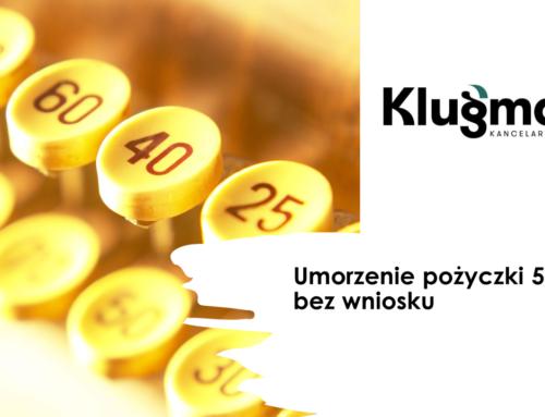 Umorzenie pożyczki 5000 zł. bez wniosku